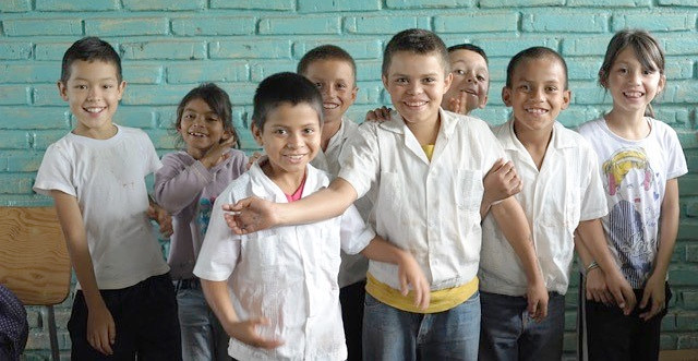 Students at San Juan del Rancho